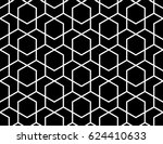 abstract geometric pattern with ... | Shutterstock . vector #624410633