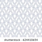 abstract geometric pattern with ... | Shutterstock . vector #624410654