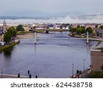Cityscape Of Inverness Town In...