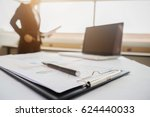 business concept with copy... | Shutterstock . vector #624440033