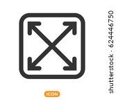 full screen vector icon