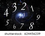 numerology  magic of numbers | Shutterstock . vector #624456239