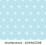 minimal sacred geometry graphic ... | Shutterstock .eps vector #624462248