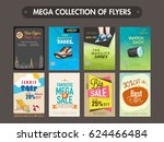 mega collection of different... | Shutterstock .eps vector #624466484