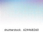 light pink  blue vector... | Shutterstock .eps vector #624468260