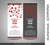 roll up banner layout template... | Shutterstock .eps vector #624493964