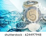 polish zloty trading concept....