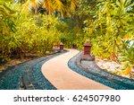 japanese zen garden | Shutterstock . vector #624507980