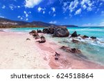 Elafonissi Beach With Pink San...