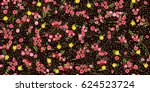 simple cute pattern in small... | Shutterstock . vector #624523724