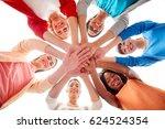 diversity  race  ethnicity and... | Shutterstock . vector #624524354