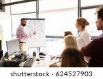 business  startup  presentation ... | Shutterstock . vector #624527903