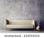 modern interior room with nice... | Shutterstock . vector #624531014