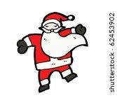 santa claus cartoon | Shutterstock .eps vector #62453902
