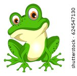 Frog Toad Vector Eps Isolated...