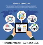business online composition... | Shutterstock .eps vector #624555266