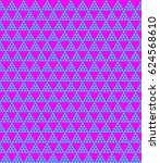 vibrant colored seamless... | Shutterstock .eps vector #624568610