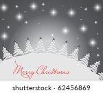 christmas retro background | Shutterstock .eps vector #62456869