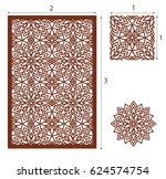 vector laser cut panel  the...   Shutterstock .eps vector #624574754