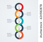 abstract infographic template.... | Shutterstock .eps vector #624582878