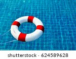 safety equipment  life buoy or... | Shutterstock . vector #624589628