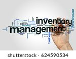 inventory management word cloud ... | Shutterstock . vector #624590534