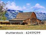 Iconic Mormon Row Barn Which I...