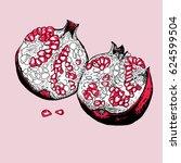 vector illustration of red...   Shutterstock .eps vector #624599504