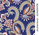 seamless pattern with white...   Shutterstock .eps vector #624600458