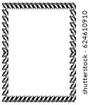 black and white abstract... | Shutterstock .eps vector #624610910
