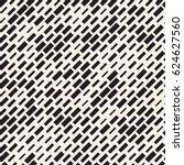 vector seamless black and white ... | Shutterstock .eps vector #624627560