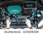 augmented reality   customer... | Shutterstock . vector #624658184