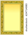 hard vintage frame border for... | Shutterstock .eps vector #624714083
