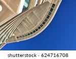 glass floor bridge on the... | Shutterstock . vector #624716708