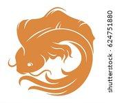 koi fish   Shutterstock .eps vector #624751880