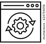optimization vector icon   Shutterstock .eps vector #624754058