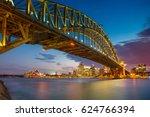 sydney. cityscape image of... | Shutterstock . vector #624766394