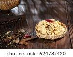 chinese food tofu skin | Shutterstock . vector #624785420