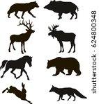 animal  icon  black.   Shutterstock .eps vector #624800348