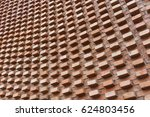 red brick wall texture for... | Shutterstock . vector #624803456