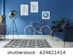 black and white patterned... | Shutterstock . vector #624821414