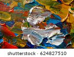 abstract bright background with ...   Shutterstock . vector #624827510