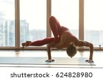 wonderful flexibility. skillful ... | Shutterstock . vector #624828980