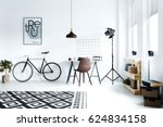 Black And White Hipster Room...