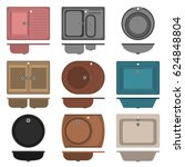 set  collection of icons of...