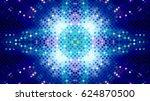 glittering mosaic lights | Shutterstock . vector #624870500