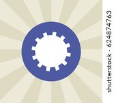 cogwheel icon. sign design....   Shutterstock .eps vector #624874763