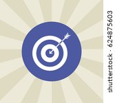 target icon. sign design....