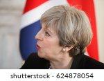 london  uk   apr 10  2017 ... | Shutterstock . vector #624878054