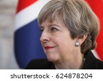 london  uk   apr 10  2017 ... | Shutterstock . vector #624878204